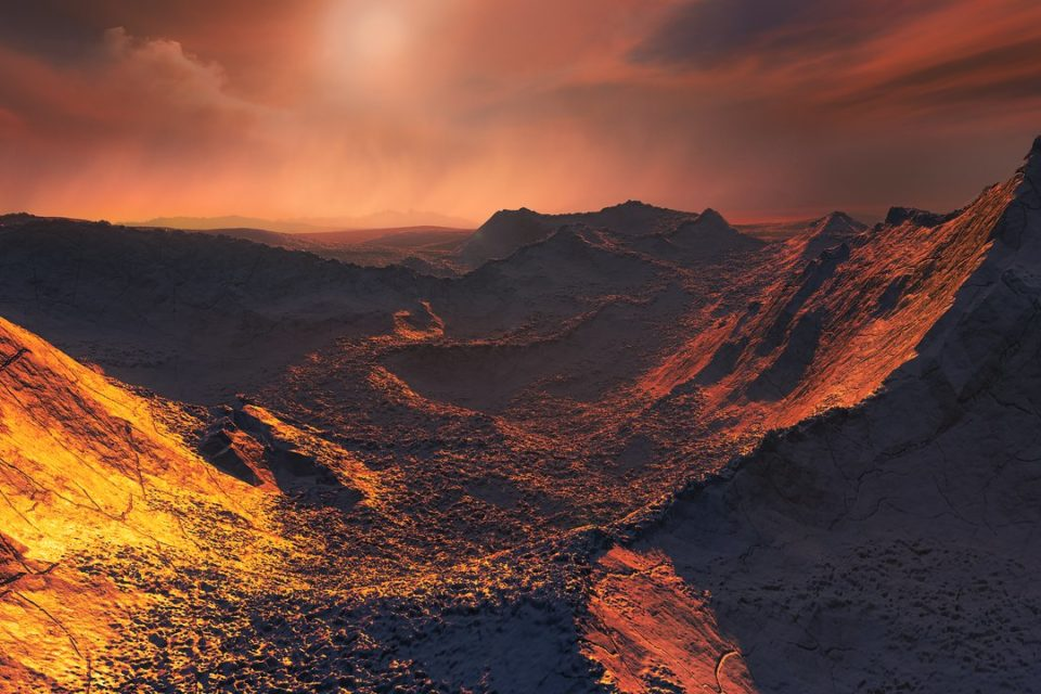 Super Earth Planet Found Around One of the Closest Stars to Us