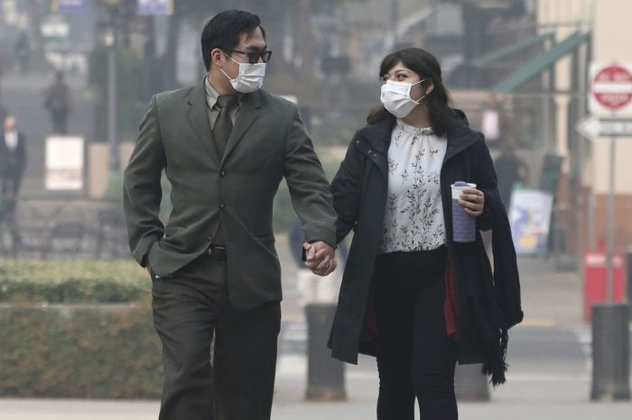Northern California fire brings worst air quality in the world to residents hundreds of miles away