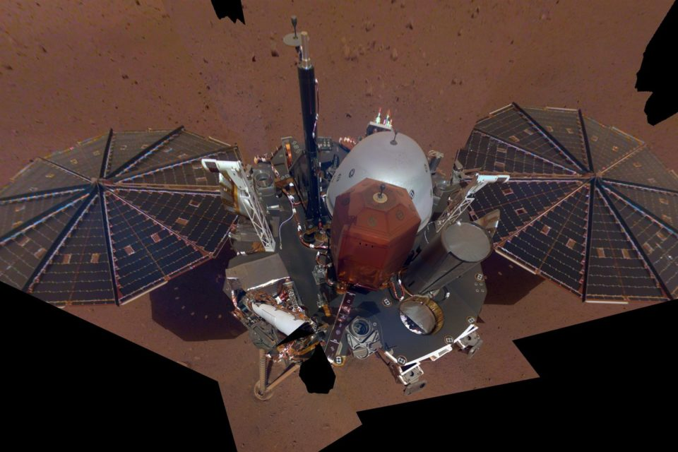 NASA's Mars InSight Lander snaps its first selfie, but who took the picture?
