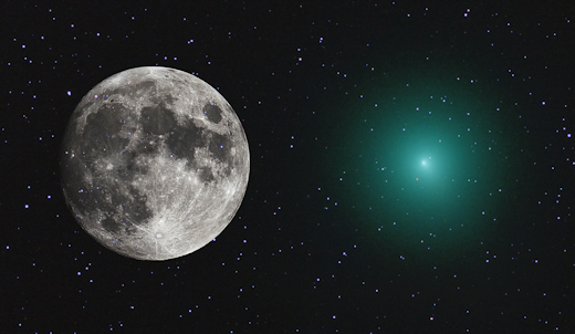 A Comet as Big as a Full Moon Will Approach Earth by December 12th, 2018