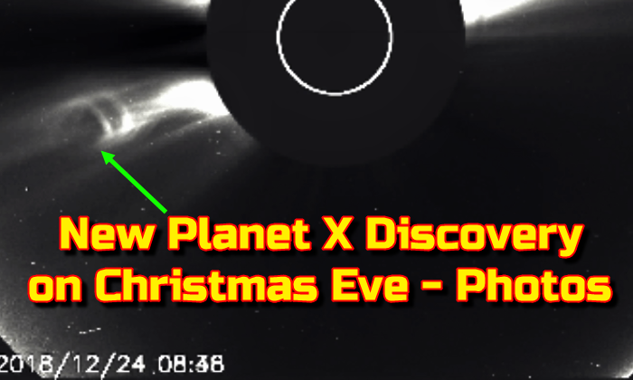 New Planet X Discovery on Christmas Eve - Photos