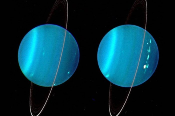 Mysterious Object Twice the Size of Earth is What Caused Uranus' Lopsided Orbit