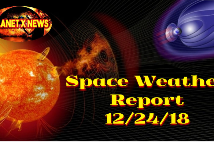 Space Weather Report 12/24/18