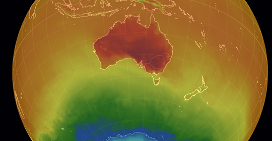 Australian Record Temperatures Sore to 122 F Drought, Dead Fish, Wildfires, Crop Failure, Bats and Birds Dying