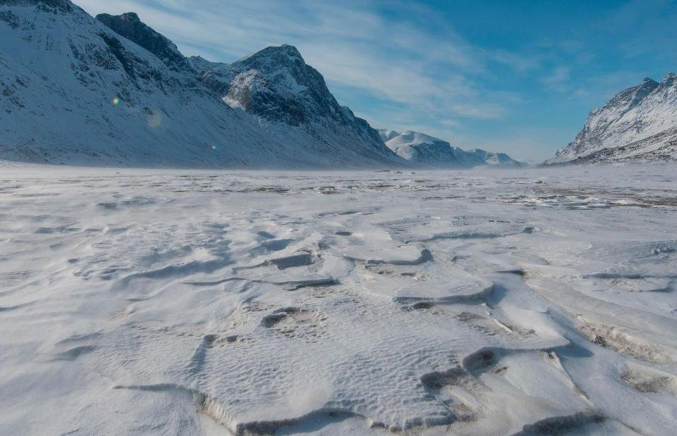 Canadian Arctic Glaciers have melted enough to reveal land 40,000 Yr Old Land