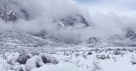Rare Snowfall in Los Angeles County, Las Vegas had 5th February snow day, first since 1949