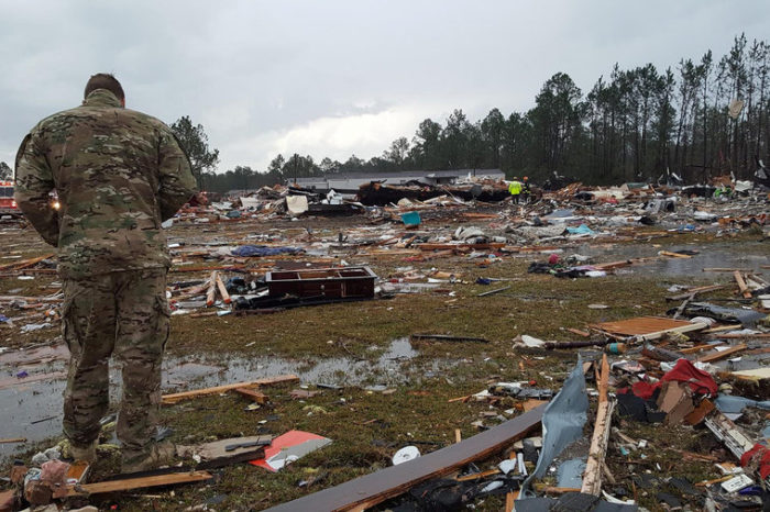 Fatalities, extreme damage reported following tornadoes in Alabama, Georgia Sunday