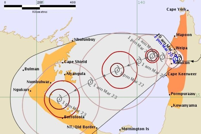 Largest Evacuation Ever Underway in the Northern Territory of Australia ahead of Tropical Cyclone Trevor
