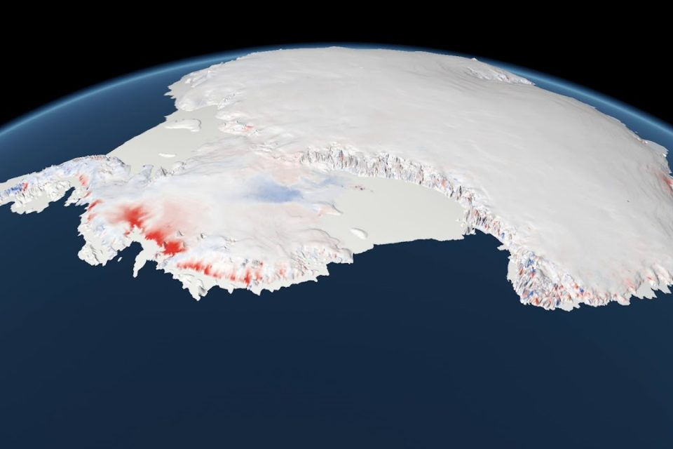 Antarctica Great Masses of Ice Melting significantly faster than decades ago