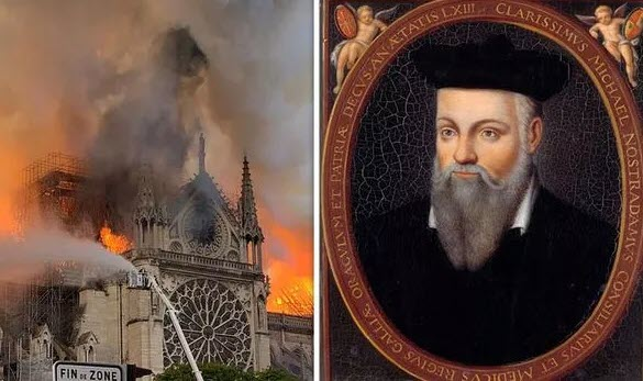 Notre Dame SHOCK claim: Did Nostradamus predict END of humanity after cathedral fire?