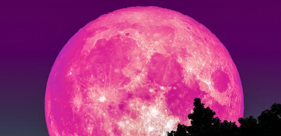 Amazing PINK MOON set to rise over Earth on Good Friday