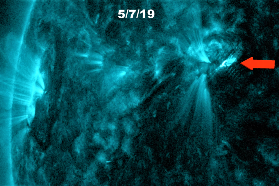 Coronal Mass Ejection Set to Impact Earth on May 11th-12th