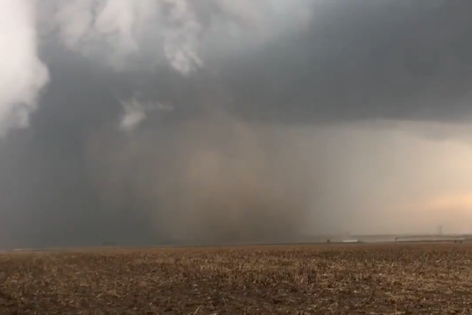 AccuWeather's extreme meteorologist Reed Timmer survived a direct hit by a tornado