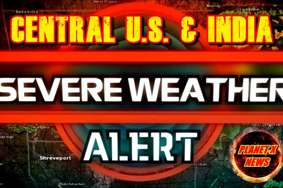 Severe Weather Alert for the Central U.S. May 1st, 2019 and Large Cyclone Set to Hit India