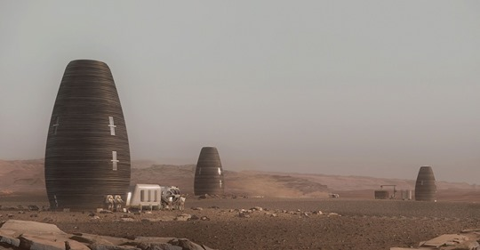People may one day live on Mars in these NASA-approved, 3D-printed homes—take a look inside