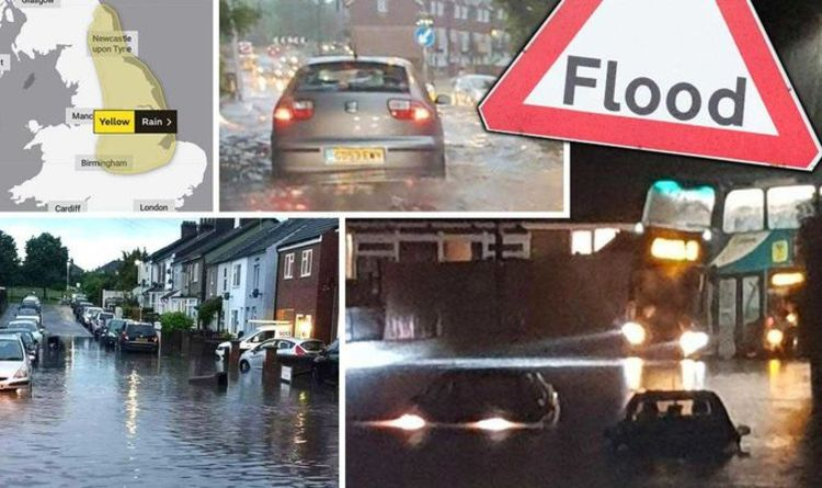 2 months' worth of rain in 48 hours triggers floods, disrupts travel, UK