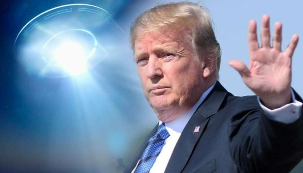 'WE'RE WATCHING' — TRUMP WEIGHS IN ON UFO SIGHTINGS