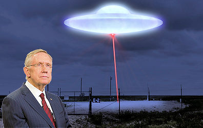 Former Sen. Majority Leader Harry Reid wants hearings on what the military knows about UFOs