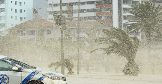 Cape Town South Africa under water as storm hits, areas evacuated