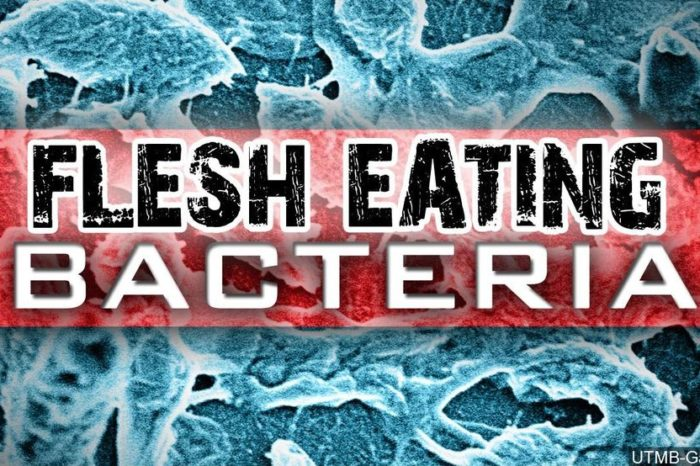 Flesh-eating bacteria not just in the water