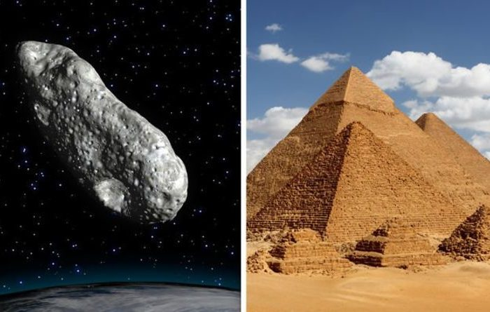 Asteroid Bigger Than Egypt's Great Pyramid of Giza Barely Misses Earth