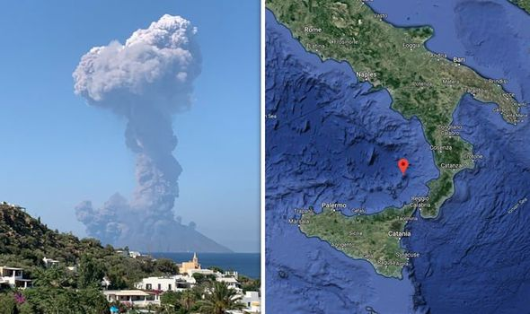 Huge Explosion Just Rocked Italy's Stromboli Volcano