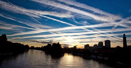 """""""Chemtrail Cough"""" is Sweeping the Nation Death by Respiratory Disease Has Skyrocketed"""