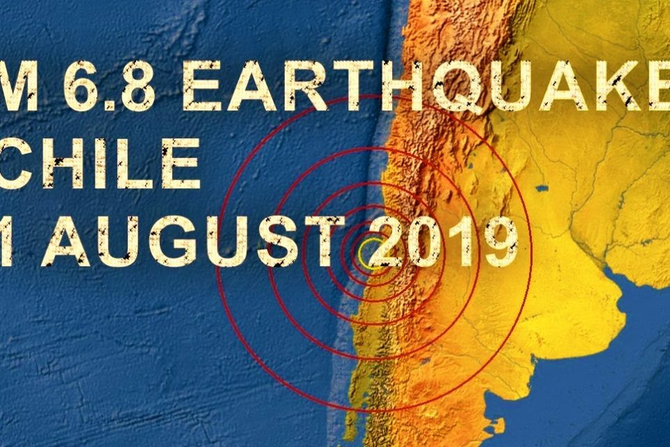 The August 1, 2019, M6.8 Chilean Earthquake reveals stress is building on the megathrust