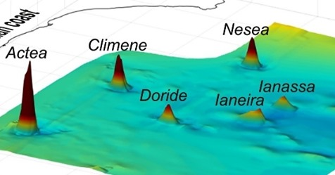 Six underwater volcanoes discovered near Sicily, Mediterranean Sea