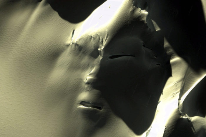 The Alien Face Found in the Antarctic