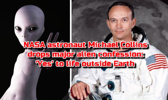 NASA astronaut Michael Collins drops major alien confession: 'Yes' to life outside Earth