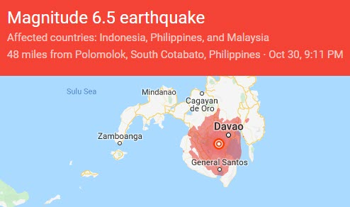 Philippines Struck by Second Big Earthquake in Three Days