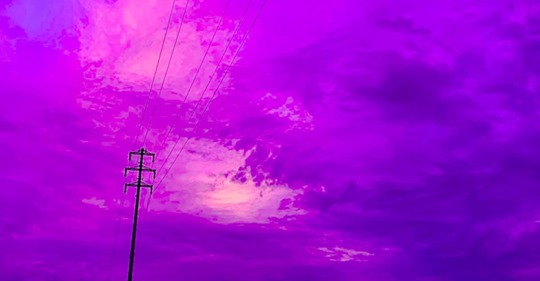 The Sky Turned Electric Purple Just Hours Before Typhoon Hagibis Hit Japan