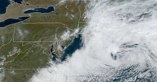 Slow-Moving Nor'Easter Affecting Parts of the Northeast