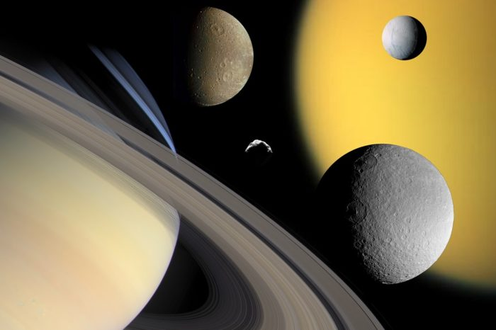 Astronomers Find 20 New Moons Around Saturn