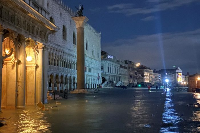 Jaw-Dropping Scenes of Venice Underwater After Historic Flood