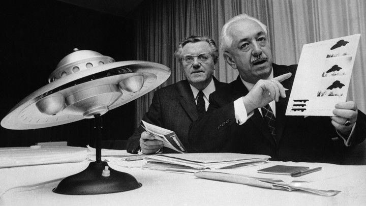 The U.S. Government has finally admitted that UFOs are real, Well, sort of