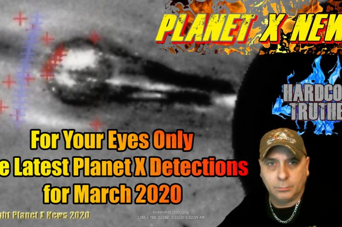 The Latest Planet X Detections for March 2020