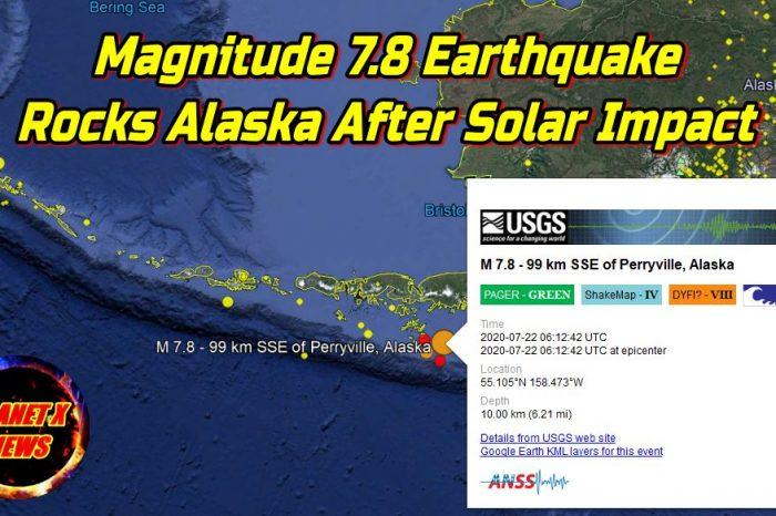 Magnitude 7.8 Earthquake Rocks Alaska After Solar Impact