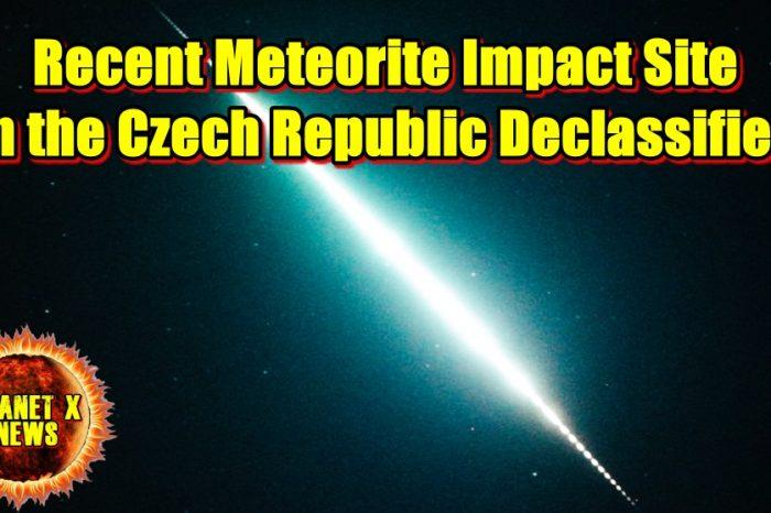 Recent Meteorite Impact Site in the Czech Republic Declassified