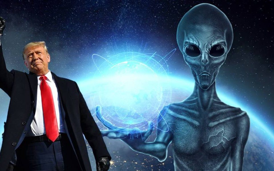 Former Israeli space security chief says extraterrestrials exist, and Trump knows about it